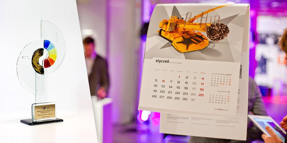 Kalendarz Kopex wygrywa na festiwalu ZoomArt